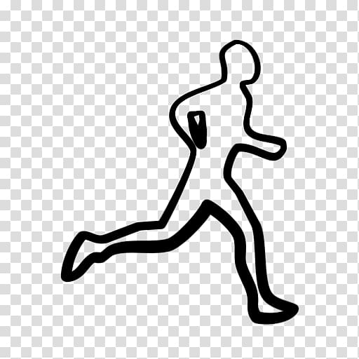 Running computer icons racing. Race clipart road run