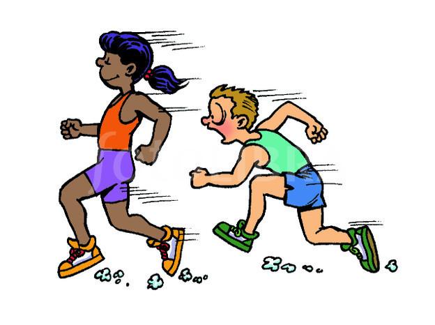 Clip art library . Race clipart running