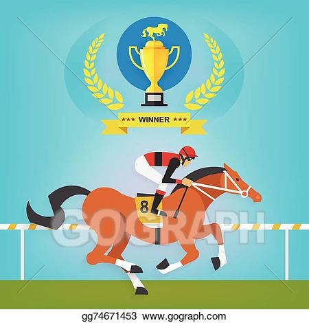 Vector art the of. Race clipart sport champion