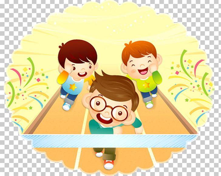Race clipart sports day. Png balloon boy cartoon