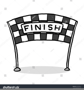 Line free images at. Race clipart to finish