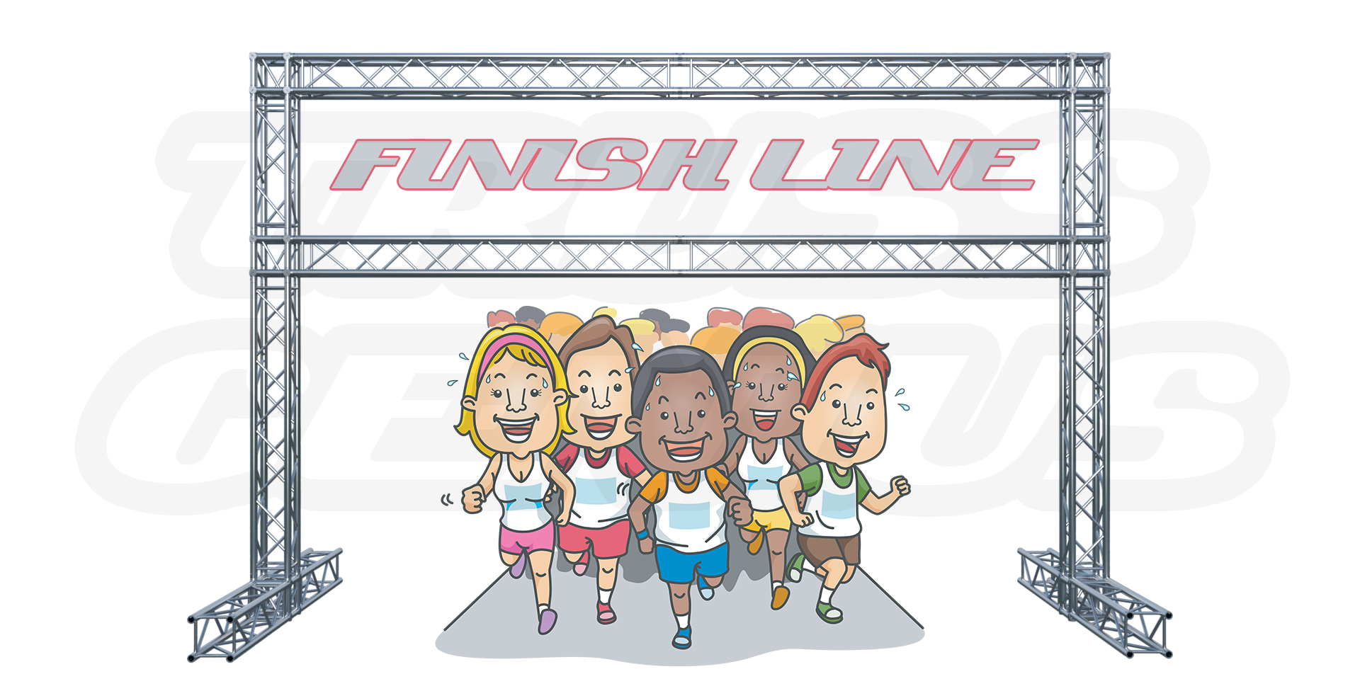 collection of marathon. Race clipart to finish