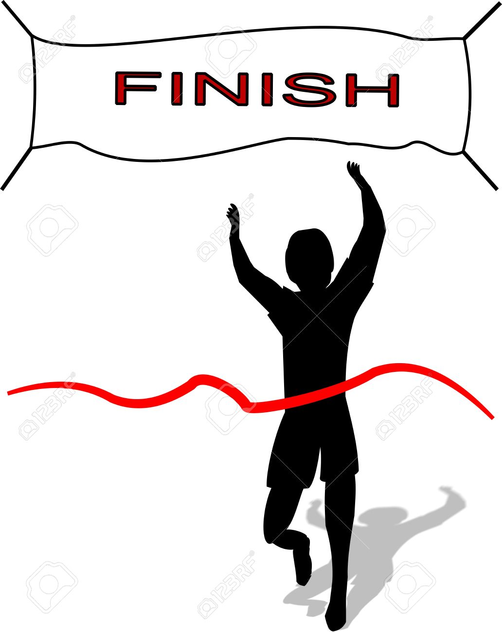 Race clipart to finish. Free download best on