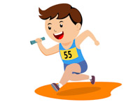 Race clipart track and field. Search results for clip