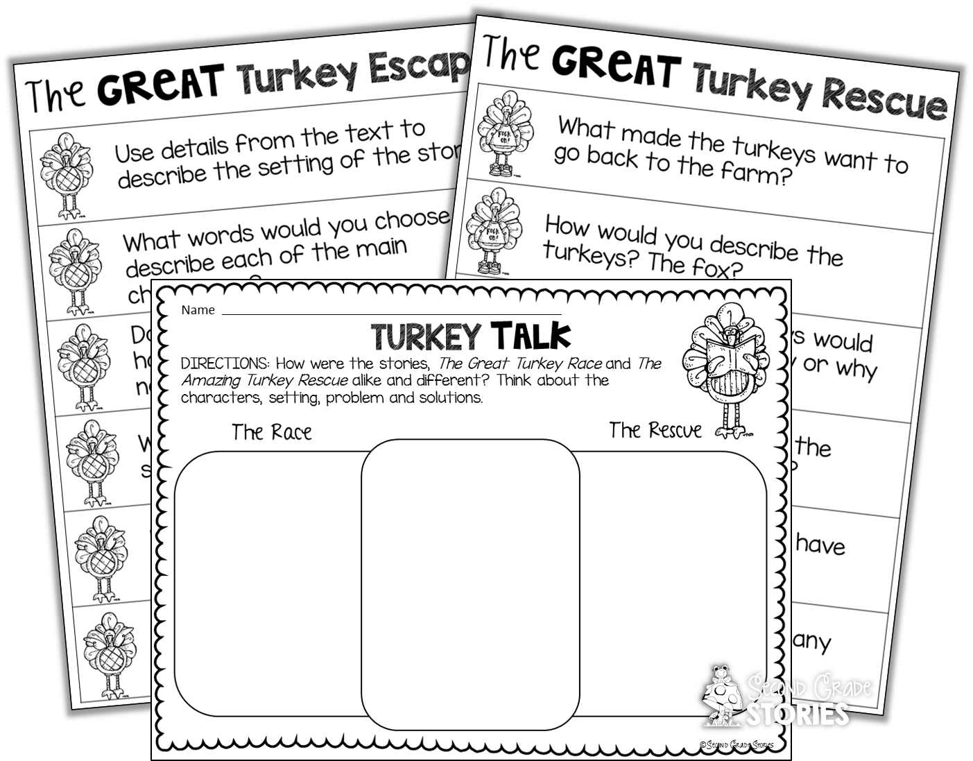 Race clipart turkey. Thanksgiving reading fun second