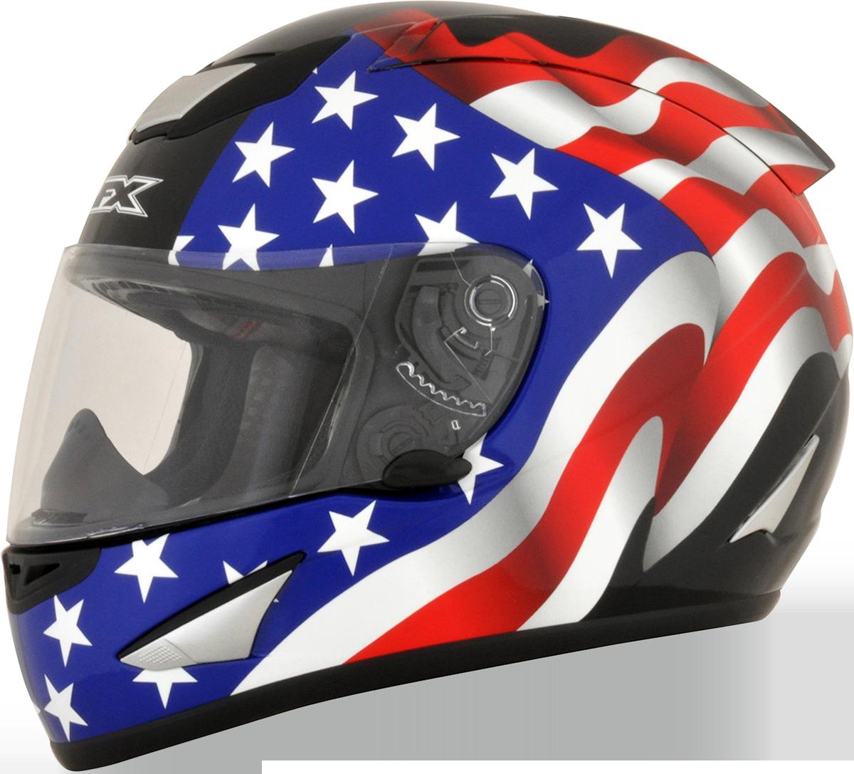 Afx unisex black motorcycle. Racing helmet png