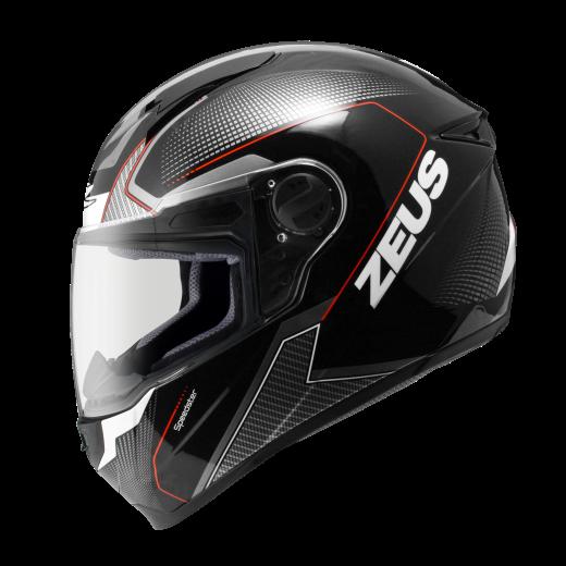Zeus black red speed. Racing helmet png