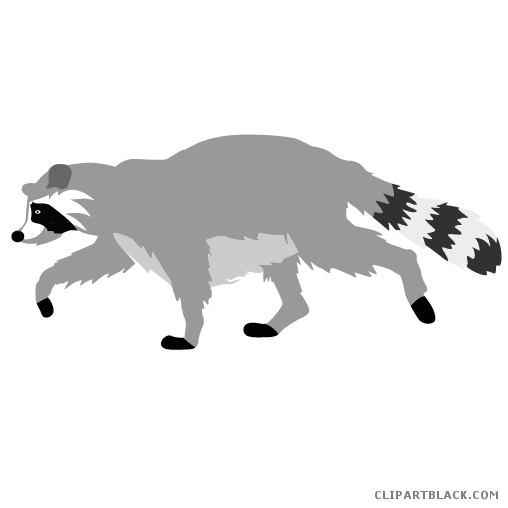 Raccoon clipartblack com animal. Racoon clipart