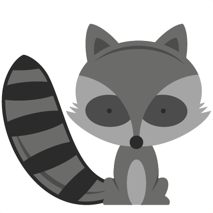 Racoon clipart baby fox. Free raccoon cliparts download