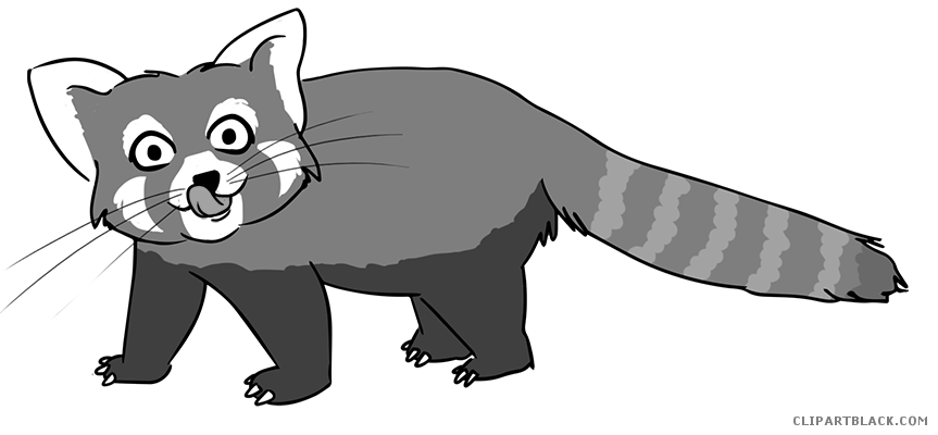 Raccoon clipartblack com animal. Racoon clipart black and white