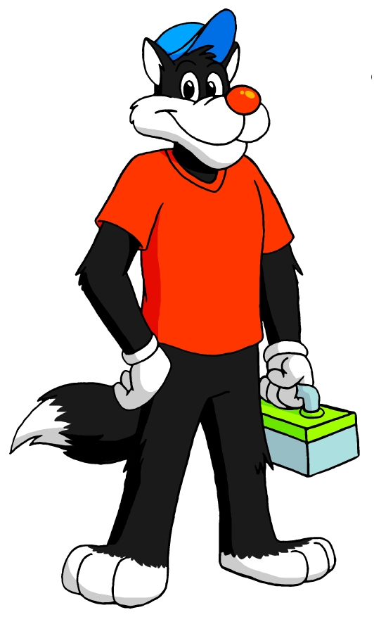Gift for jose ramiro. Racoon clipart christmas