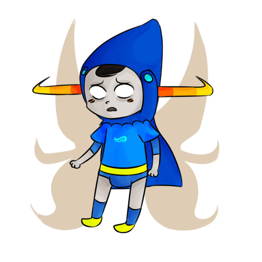 Tavros chibi god tier. Racoon clipart hat