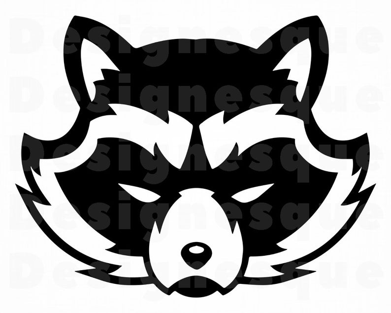 Download for free png. Racoon clipart head