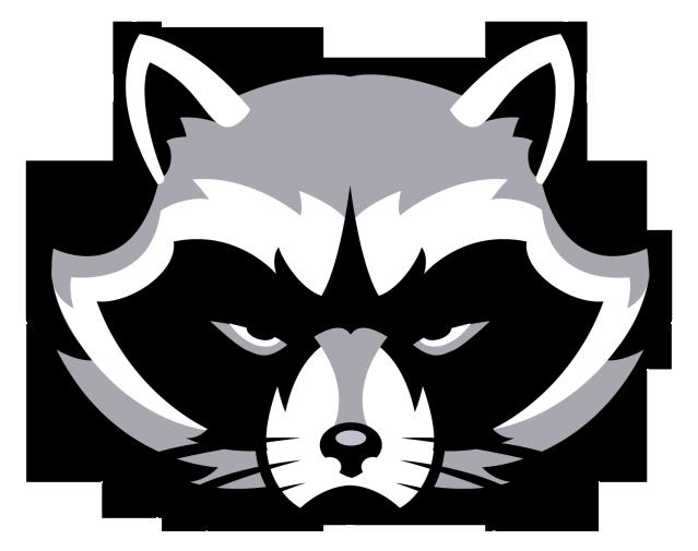 Raccoons logo concepts chris. Racoon clipart head