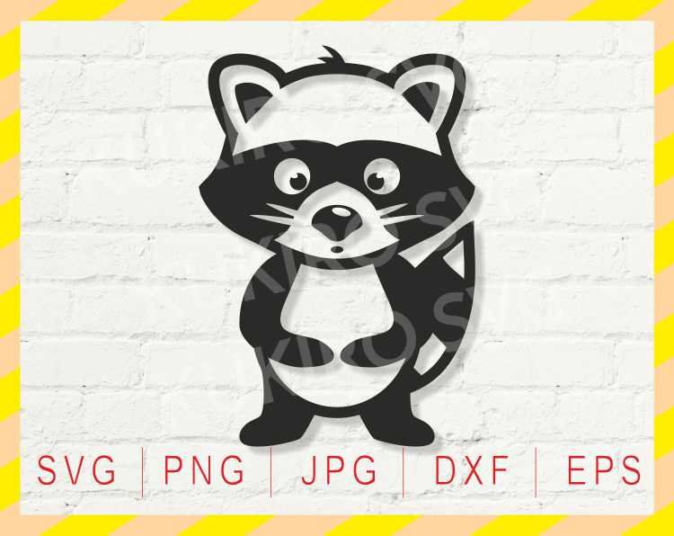Racoon clipart svg. Pin on clip art