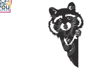 Raccoon etsy . Racoon clipart svg