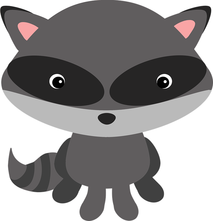 Racoon clipart woodland.  collection of raccoon