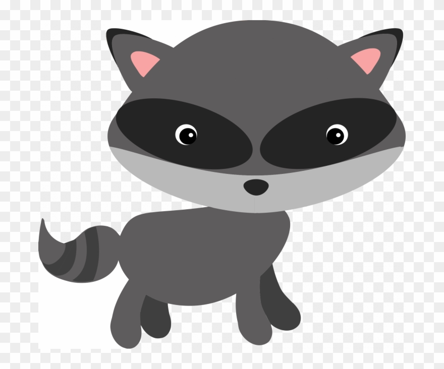 Racoon clipart woodland creature. Medium size of rocket