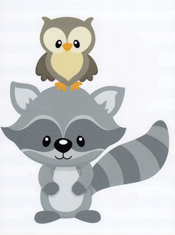 Free raccoon image clipartpost. Racoon clipart woodland creature
