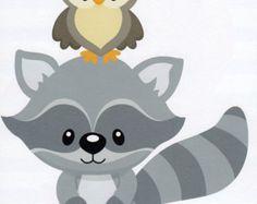 Free baby raccoon cliparts. Racoon clipart woodland owl