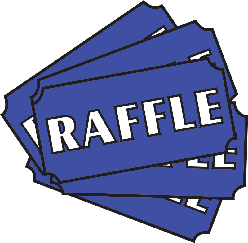 Raffle clipart. Holiday