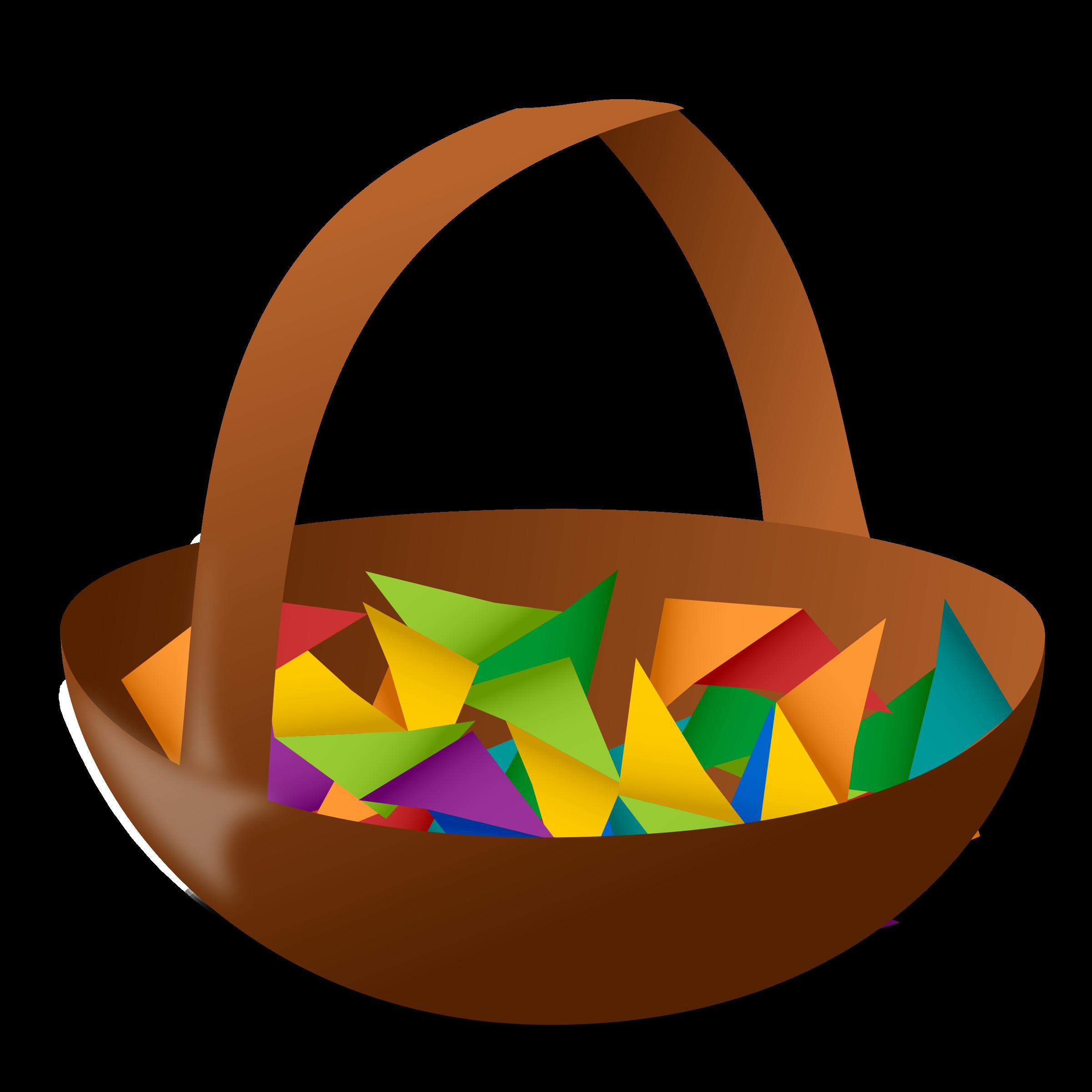 Basket big image png. Raffle clipart