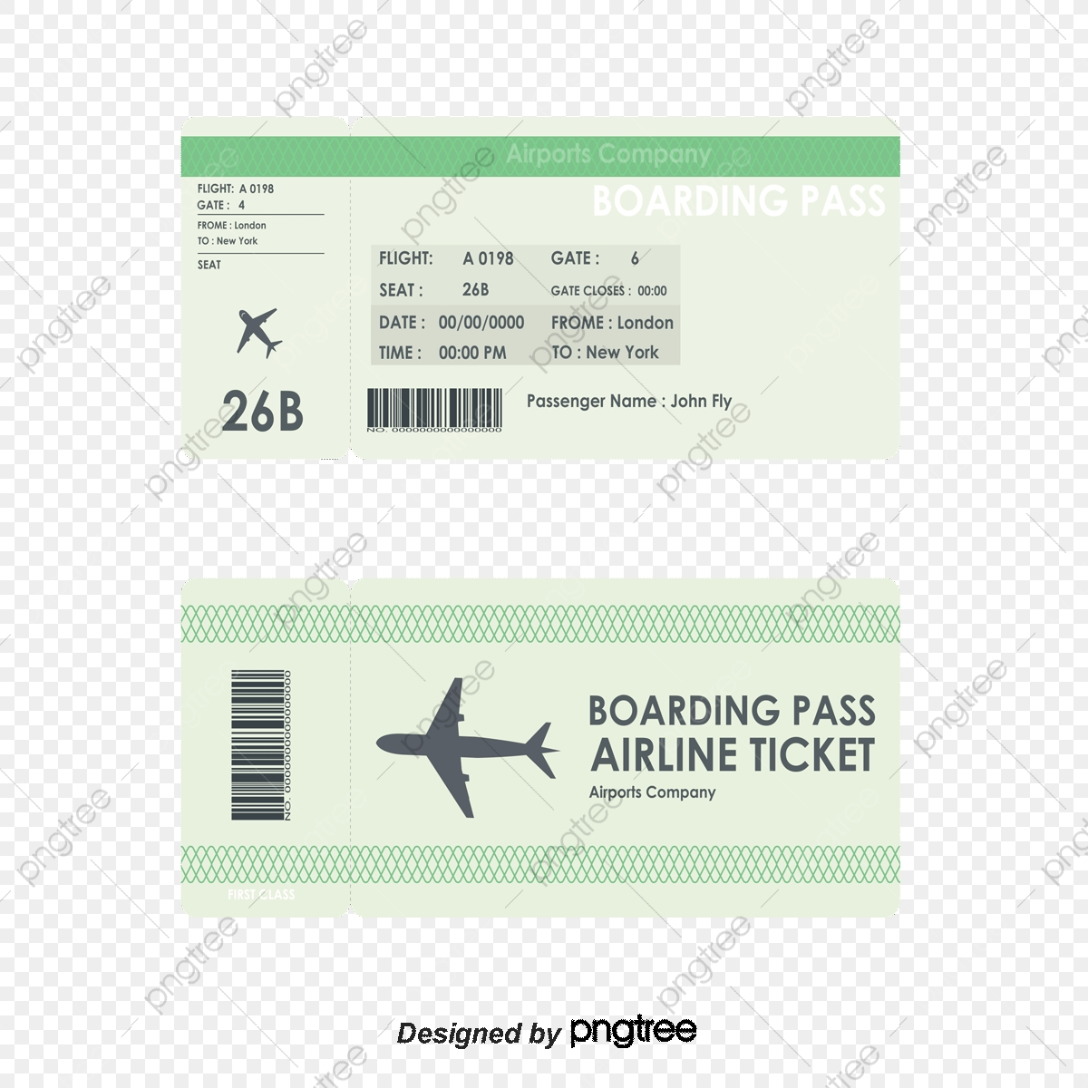 Fashion airline tickets coupon. Raffle clipart airport ticket