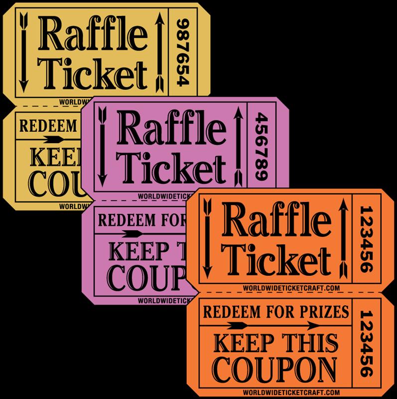 raffle clipart arcade ticket