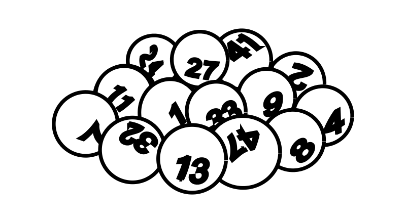 Lottery ticket drawing at. Raffle clipart black and white