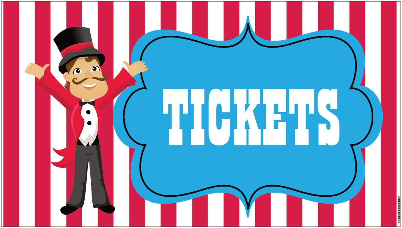 Raffle clipart carnival. Free ticket cliparts download