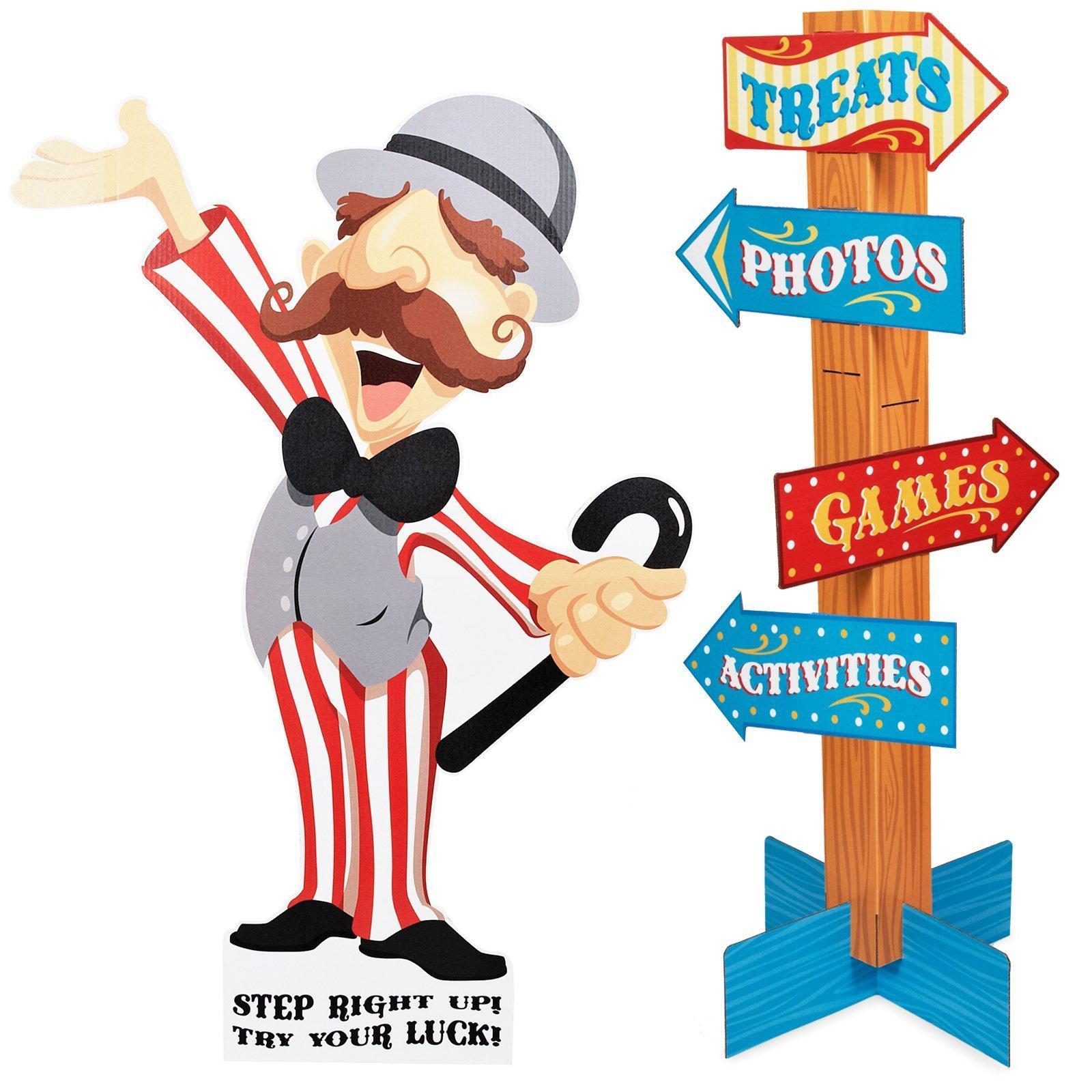 Raffle clipart carnival person. Muscle man clip art