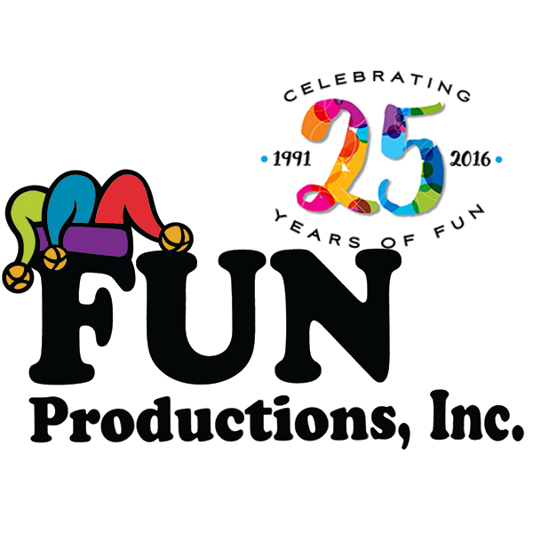 Fun productions inc logo. Raffle clipart fall festival games