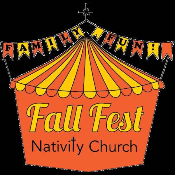 At nativity catholic church. Raffle clipart fall festival games
