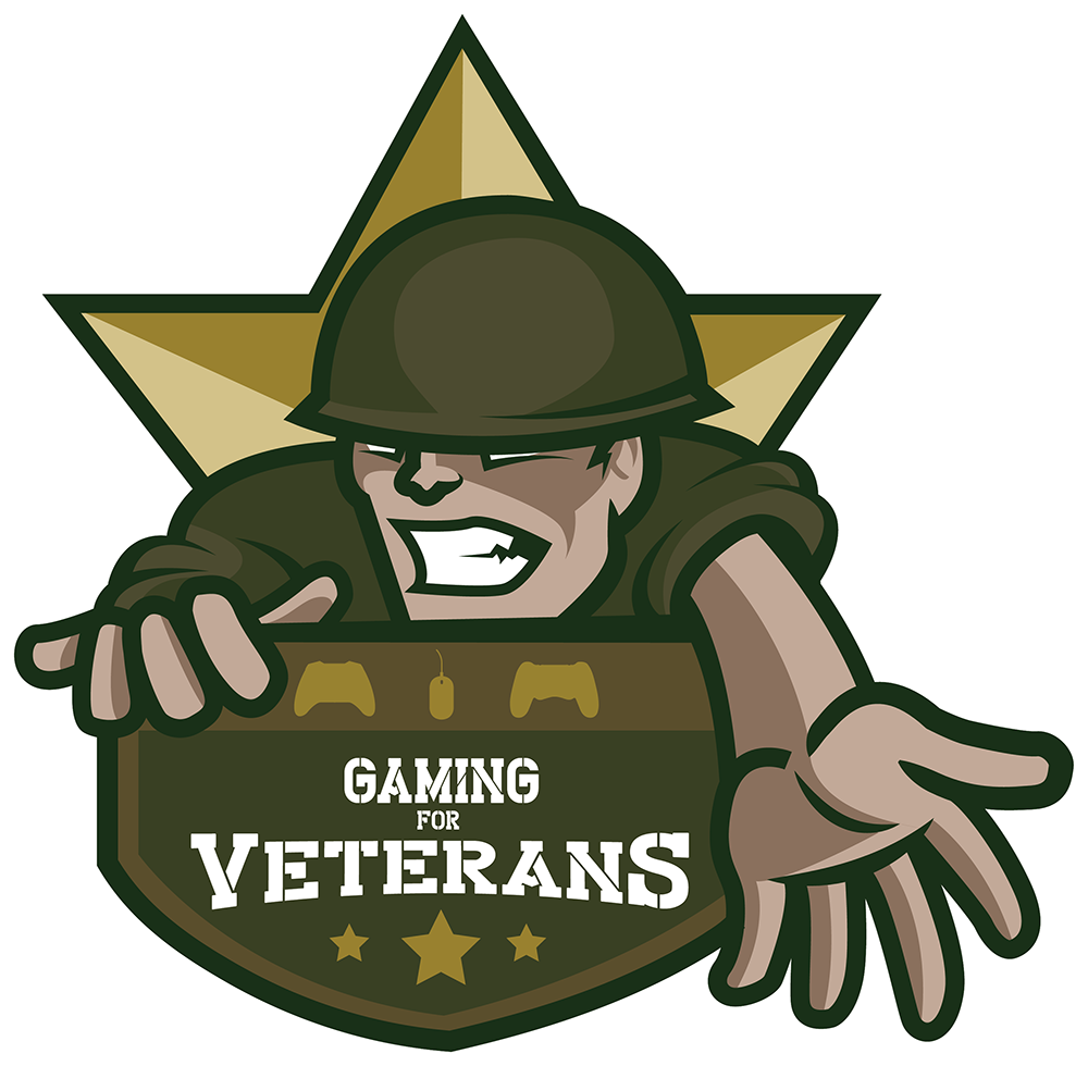Gaming for veterans charity. Raffle clipart game ticket