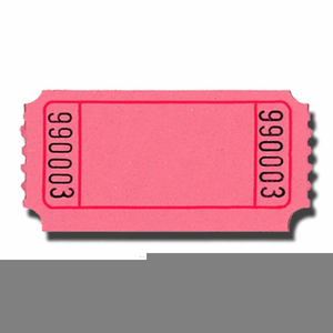Raffle clipart plane ticket. Free images at clker