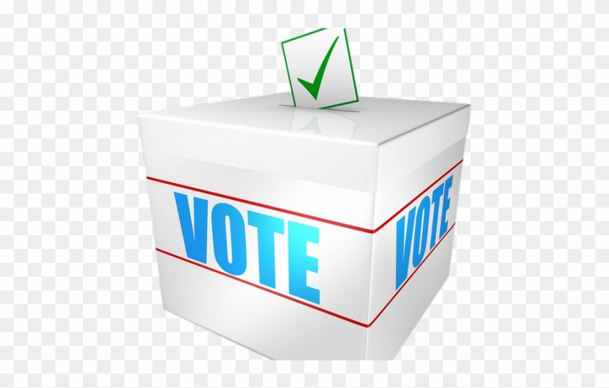 Raffle clipart raffle box. Vote ballot png transparent