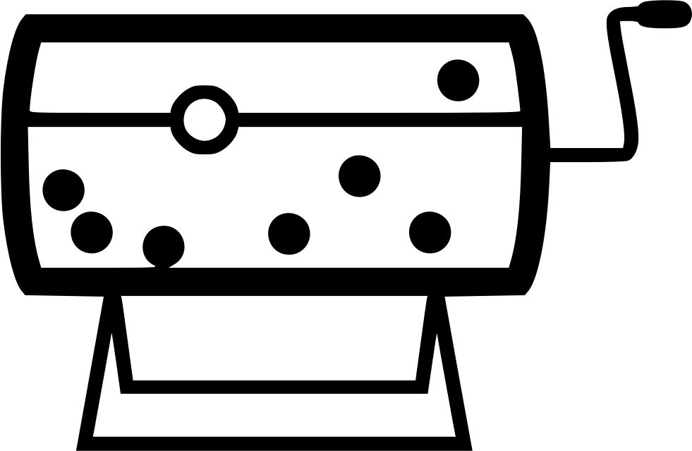Raffle clipart raffle box. Svg png icon free