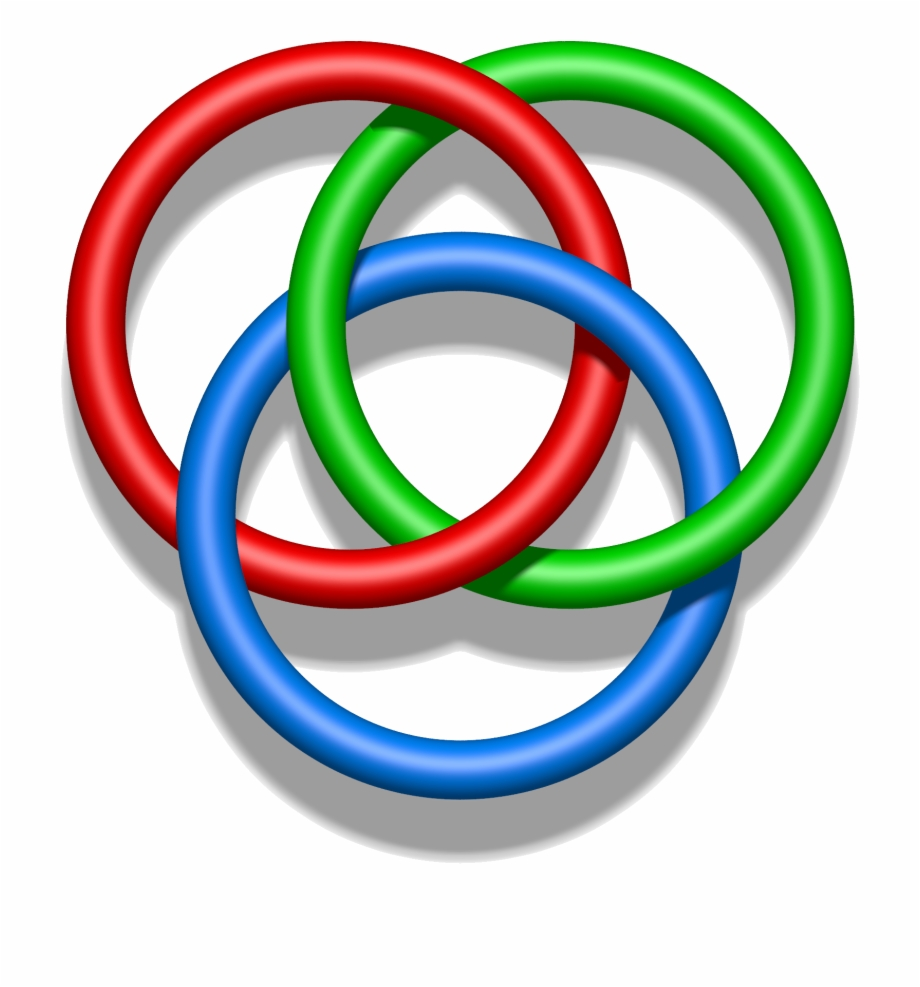 Raffle clipart ring toss. Borromean rings free png
