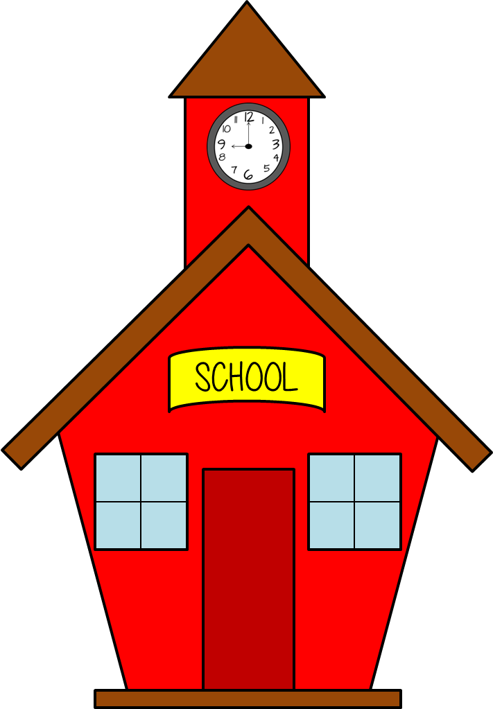 Free school house download. Tower clipart brick