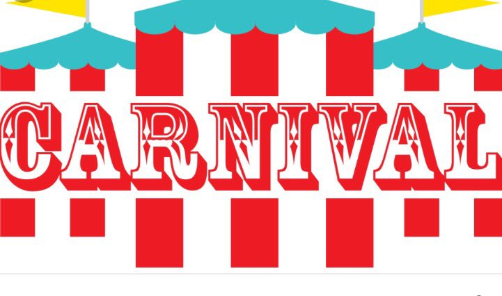 Ferris school on twitter. Raffle clipart sign carnival