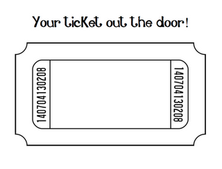 Transparent png free . Raffle clipart ticket out the door