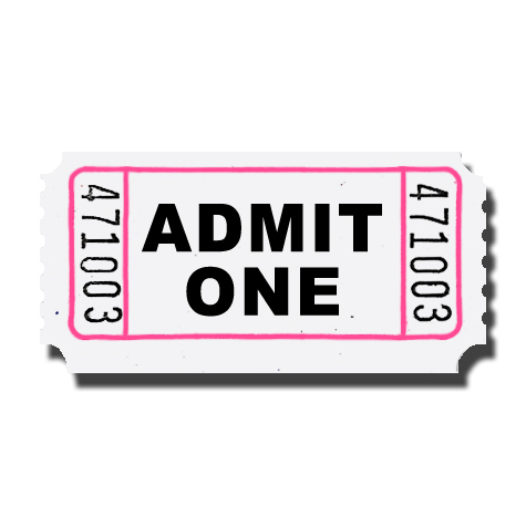 Ticket clipart admit one. Free carnival cliparts download