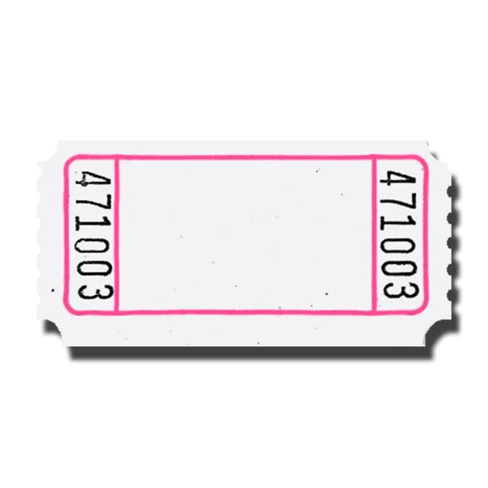 Raffle clipart travel ticket. Blank clip art free