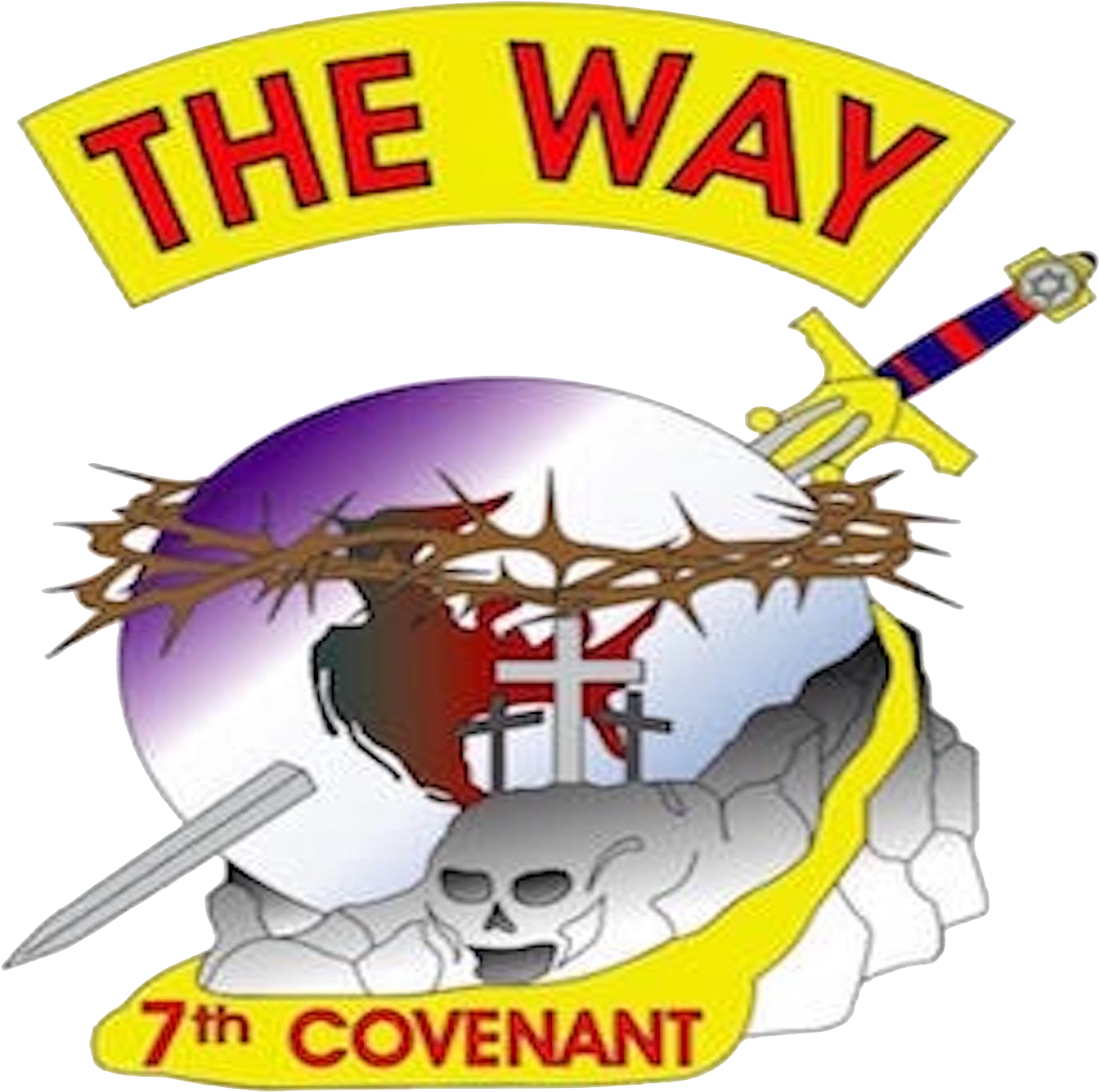 Way ministries poster . Raffle clipart we are the champion