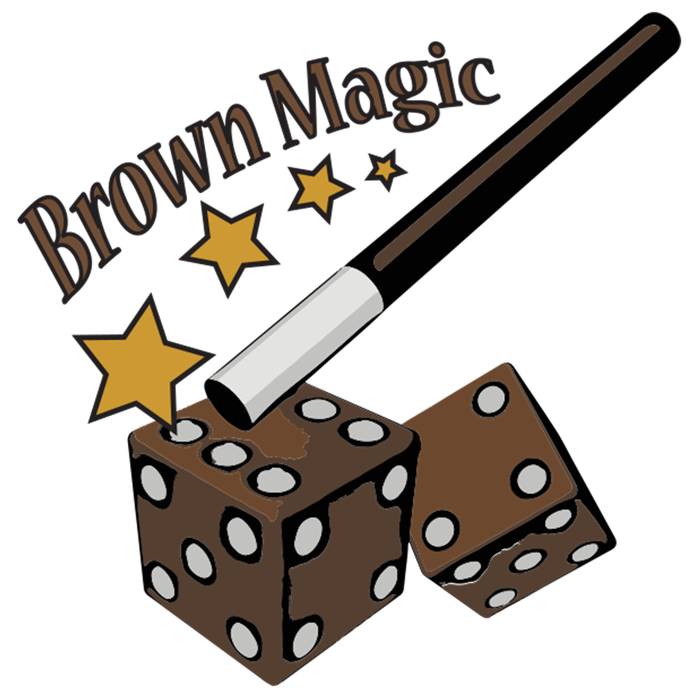 What is brown magic. Raffle clipart we are the champion