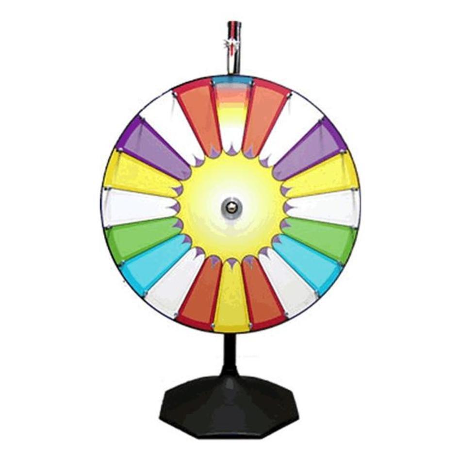 Prize clip art n. Raffle clipart wheel