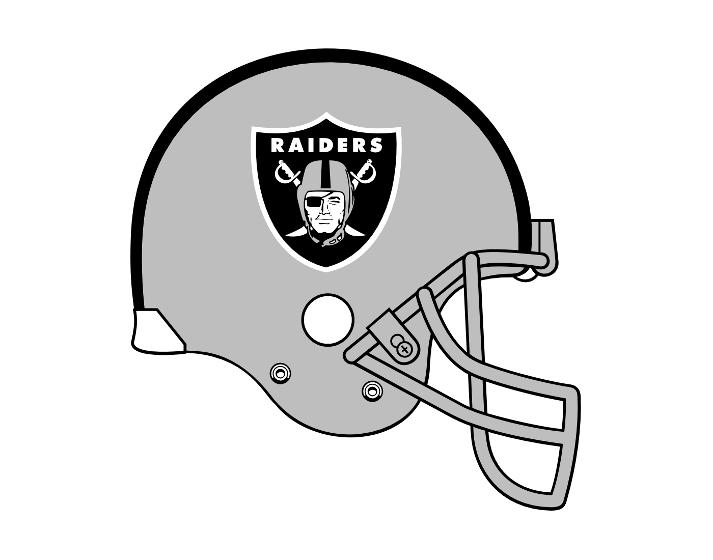 Raiders helmet png. Oakland nfl pittsburgh steelers