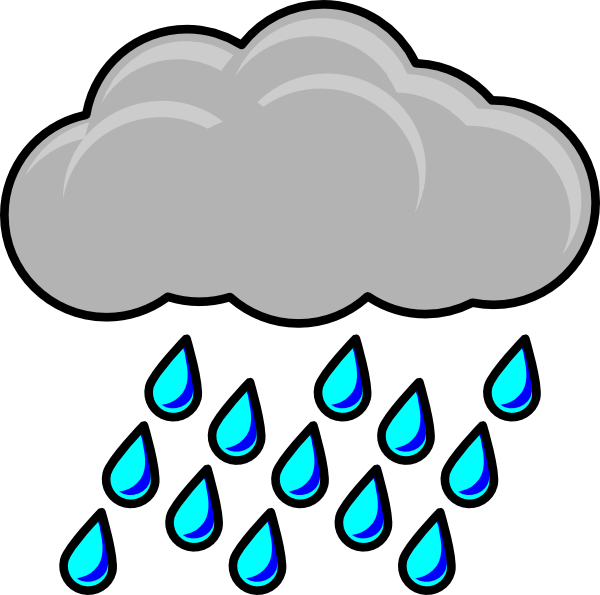 Raindrop clipart uses water. Rain pictures panda free