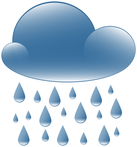 Cloud weather icon png. Clipart rain
