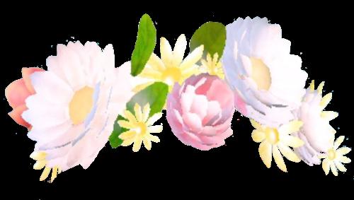Cover tutorials filter wattpad. Rainbow flower crown png